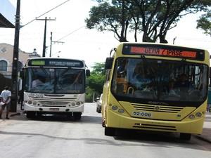 Assaltos a ônibus em São Luís (Foto: Flora Dolores / O Estado)