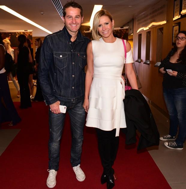 Afonso Nigro e Mônica Salgado (Foto: Leo Franco/AgNews)