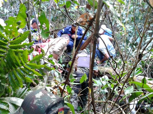 Onça ficou dentro das dependências no Parque Chico Mendes  (Foto: Divulgação/Batalhão Ambiental)
