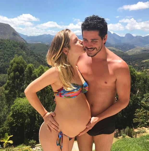 Vitória Frate e Pedro Neschling (Foto: Reprodução)
