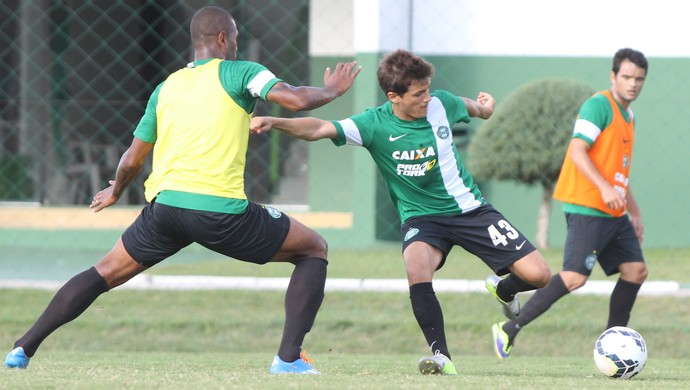 Coritiba treina no CT da Graciosa (Foto: Site oficial do Coritiba/Divulgação)