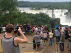 Dia de promoção das Cataratas do Iguaçu tem vazão acima do normal