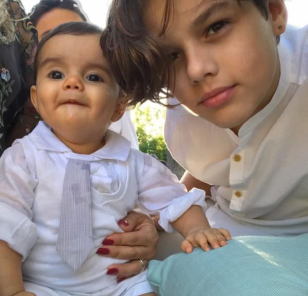 Artur e Jaime, filhos de Kelly Key (Foto: Reprodução/Instagram)