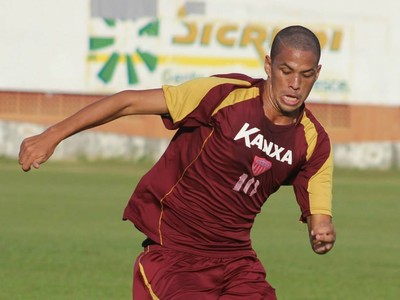 Rivaldinho atacante Mogi Mirim (Foto: Geraldo Bertanha / Mogi Mirim)