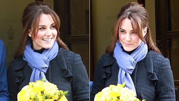 Como não poderia ser diferente, Kate Middleton é clássica e usa o nó europeu (Foto: Getty Images)