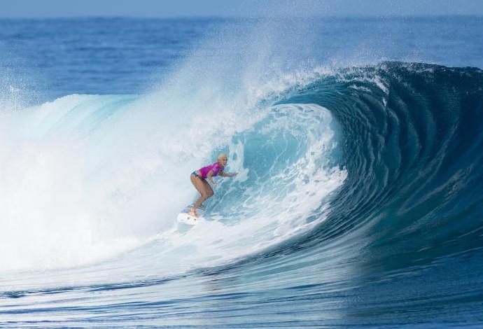 Tatiana Weston-Webb Fiji WSL surfe (Foto: Divulgação/WSL)