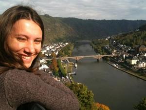 Saskia Nickel, da UFSC, recebeu notificação por atraso do aluguel na Alemanha (Foto: Arquivo pessoal)