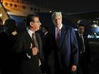Kerry chega ao Cairo para pressionar por cessar-fogo entre Israel e Gaza