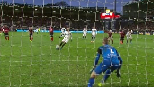 Fabinho marca de cavadinha e ajuda Monaco a manter liderança isolada
