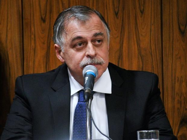 O ex-diretor Paulo Roberto Costa durante sessão da CPI mista da Petrobras (Foto: Geraldo Magela / Agência Senado)