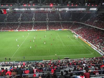 Arena da Baixada Atlético-PR Chapecoense (Foto: Fernando Freire)
