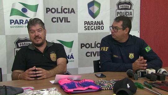 Ação prende suposto líder de ladrões que agiam em rodovias do Paraná