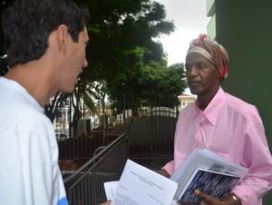 Entre membros do governo, Madalena foi uma das convidadas em Piracicaba (Foto: Thomaz Fernandes/G1)
