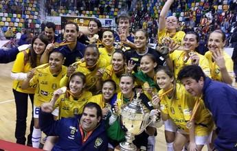 Após ajuda de Falcão & Cia., seleção feminina ganha apoio e joga o Mundial