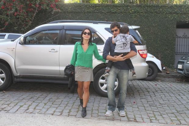 Juliana Knust no aniversario de Eva, filha de Angelica e Luciano Huck (Foto: Fabio Martins / Fotorio News)