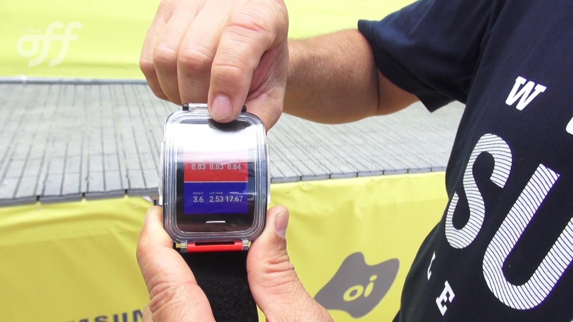 Rio Pro 2016: Conheça o relógio inteligente da WSL