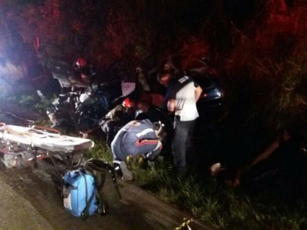 Bombeiros socorreram vítimas de acidente em Jundiaí (Foto: RS Notícias/Arquivo Pessoal)
