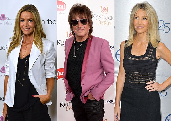Denise Richards, Richie Sambora, Heather Locklear (Foto: Getty Images)