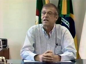 Prefeito reassumirá o mandato em Santa Rosa (Foto: Reprodução/RBS TV)