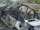 Em perseguição, grupo tenta fugir da PM e carro pega fogo em Flexeiras, AL