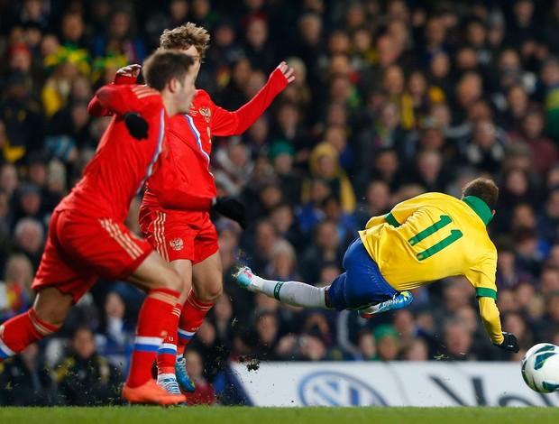 Neymar, Brasil x Russia (Foto: Reuters)
