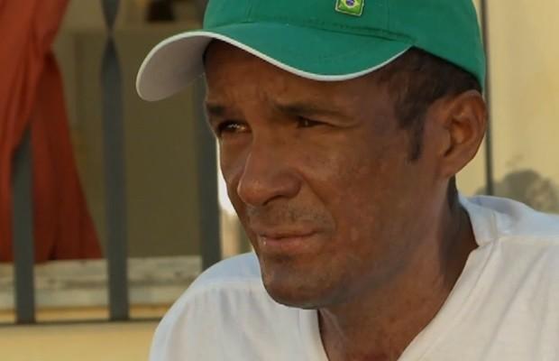 Márcio Ronny se recupera em casa, em São Luís (MA) (Foto: Reprodução/TV Mirante)