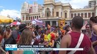 Carnaval parece não ter fim em Belo Horizonte