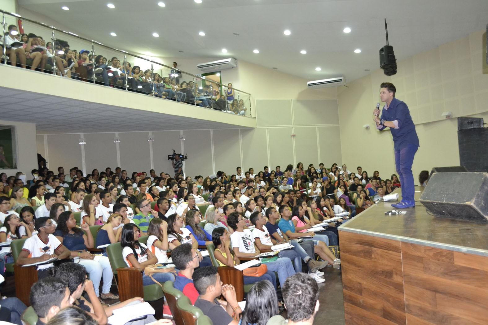 O projeto 'Educação em Movimento' aconteceu em Barreiras (Foto: Divulgação)