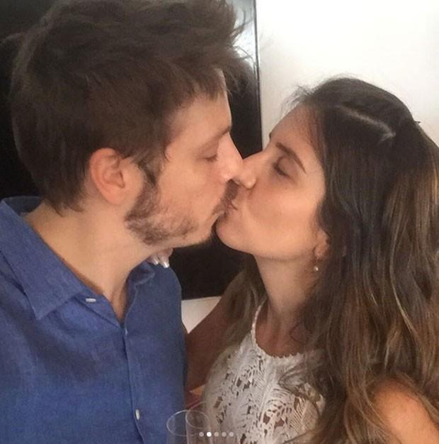 Fábio Porchat e Nataly Mega (Foto: Reprodução Instagram)