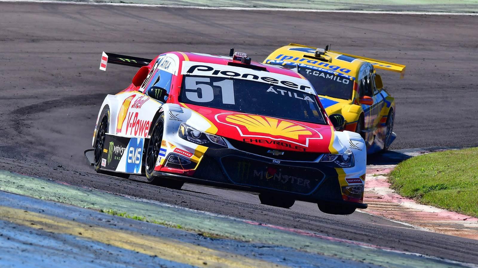 Átila Abreu da Shell Racing  (Foto: Divulgação/Vicar)