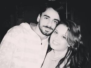 Luana e Rodrigo estão juntos há dez meses (Foto: Arquivo Pessoal)