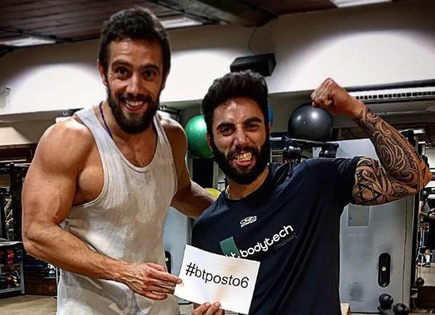 Rafael Cardoso (esq) (Foto: Reprodução/Instagram)