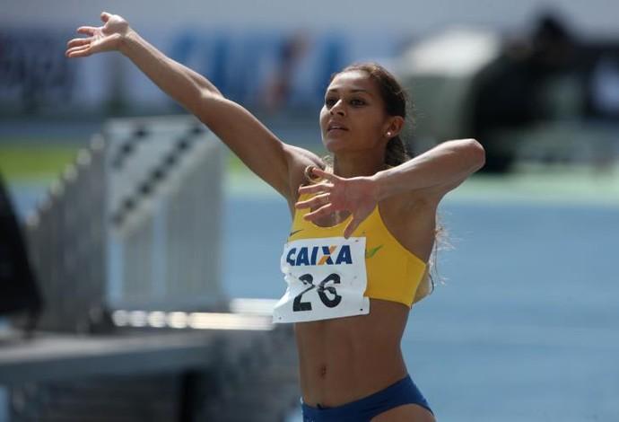Entre os campeões ibero-americanos confirmados para Belém, está a brasileira Ana Cláudia Lemos, dos 100 m. (Foto: Cristino Martins/ Agência Pará)