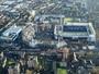 Tottenham divulga imagens aéreas das obras do novo estádio; confira