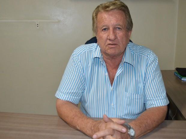 Vice-prefeito Acelino Marcon afirma ter recebido represália (Foto: Rogério Aderbal/G1)