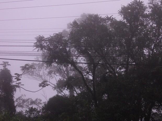 Deve chover em todo o estado nesta quarta (19) (Foto: Joana Caldas/G1)