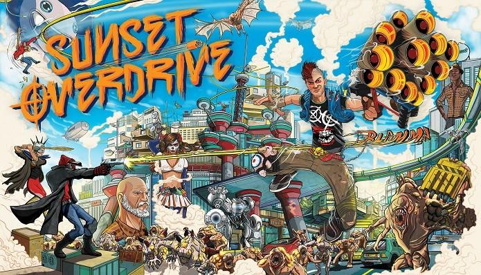 Sunset Overdrive: jogo apenas para maiores engana pelo visual colorido. (Foto: Divulgação)