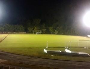 iluminação estadio antonio fernandes (Foto: Rafael Ciccone / Prefeitura de Guarujá)