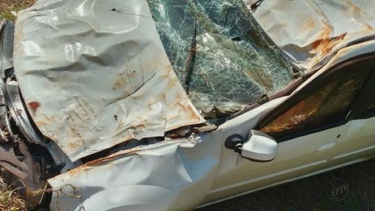 Homens morrem em capotagem em rodovia que liga Araraquara a Gavião