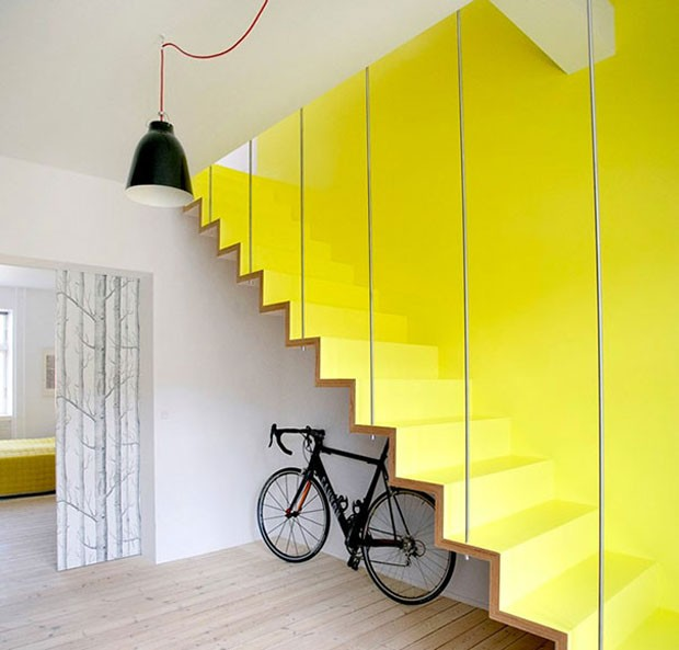 Ideias de escadas (Foto: Hanne Fuglbjerg / Divulgação)