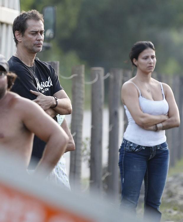 Marcello Antony e a mulher (Foto: Ag News)