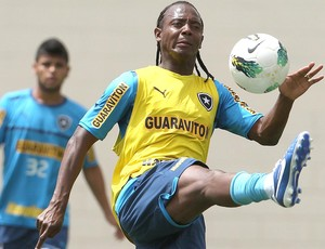 Andrezinho, treino Botafogo (Foto: Jorge William / Agência o Globo)