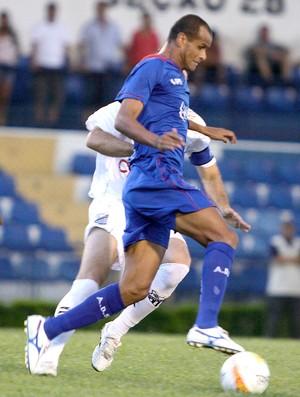 Rivaldo no jogo do São Caetano com o Bragantino (Foto: Fábio Rubinato / Ag. Estado)
