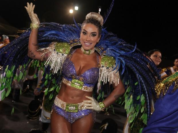 Dani Bolina em São Paulo (Foto: Leo Franco / AgNews)