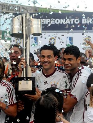 Festa fred fluminense taça campeonato brasileiro (Foto: André Durão / Globoesporte.com)