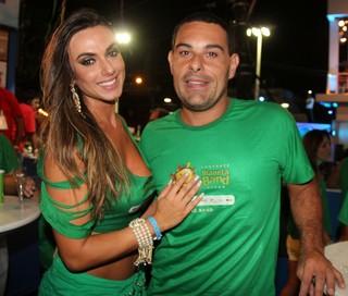Nicole Bahls e Marcelo Frisoni (Foto: Wesley Costa/ Ag. News)