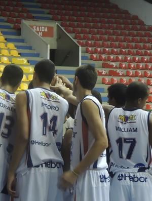 Mogi das Cruzes sub-19 basquete (Foto: Petterson Rodrigues)