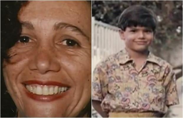 Martha Cozac, de 44 anos, e Henrique Talone, de 10, foram mortos a facadas, em Goiânia, Goiás (Foto: Reprodução/TV Anhanguera)