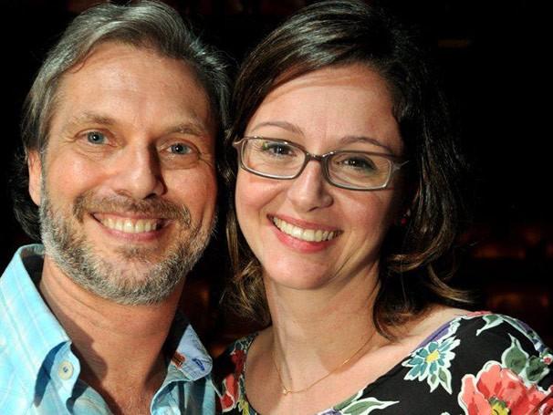 O ator Jorge Caetano e a dramaturga Julia Spadaccini (Foto: Divulgação)