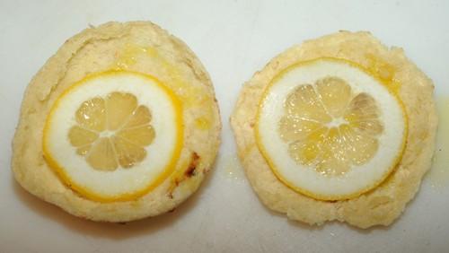 Pizza de limão siciliano